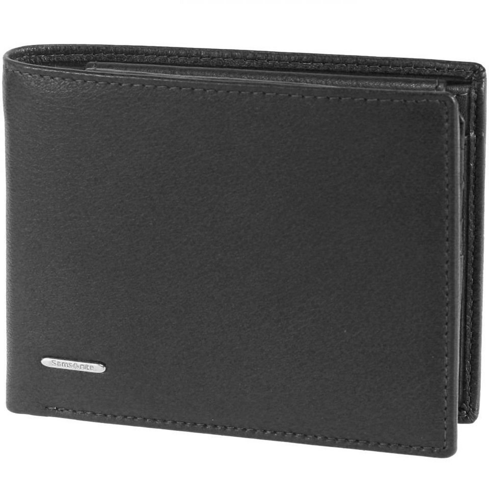 Samsonite NYX SLG Geldbörse Leder 12,5 cm in black
