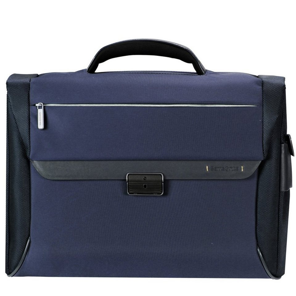 Samsonite Samsonite Spectrolite Aktentasche Briefcase 43,5 cm Laptopfach in blue