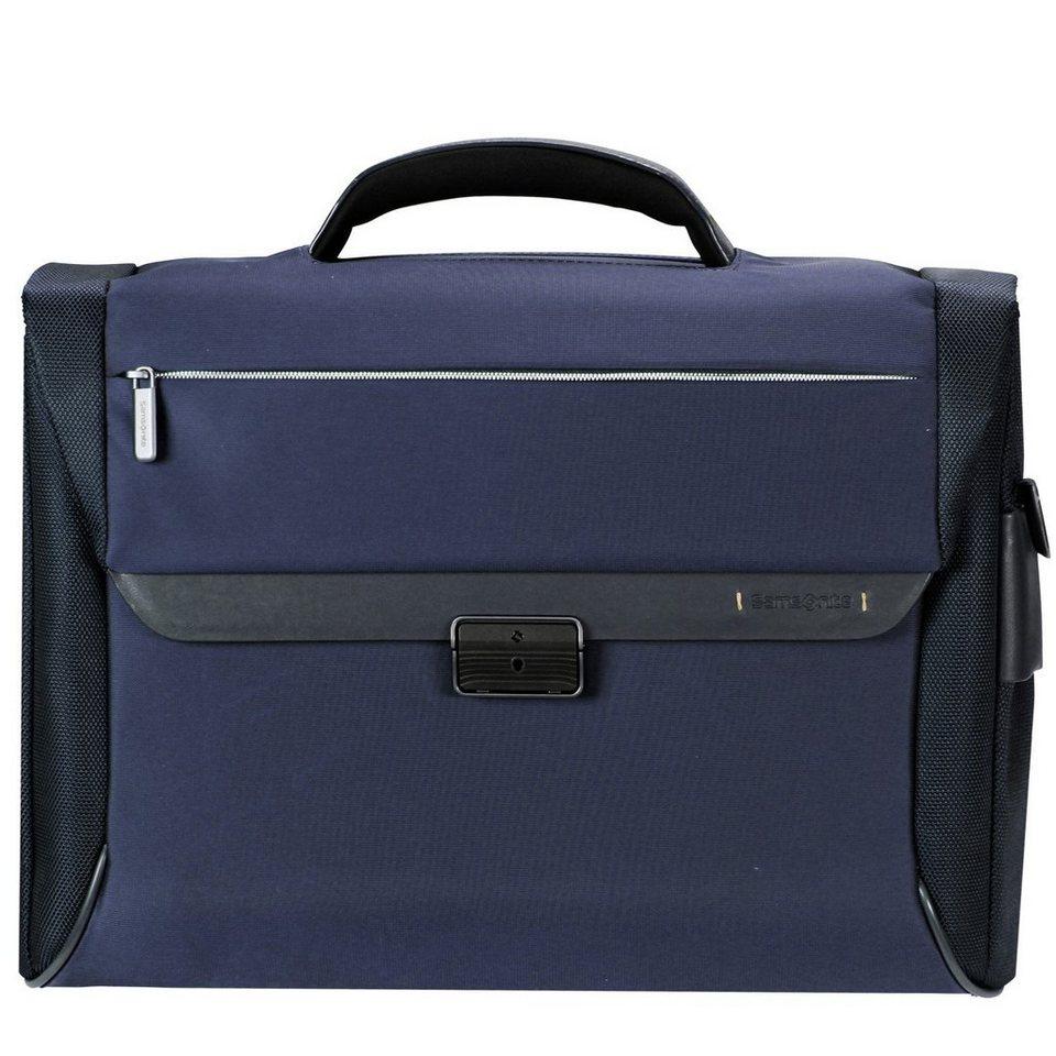 Samsonite Spectrolite Aktentasche Briefcase 43,5 cm Laptopfach in blue