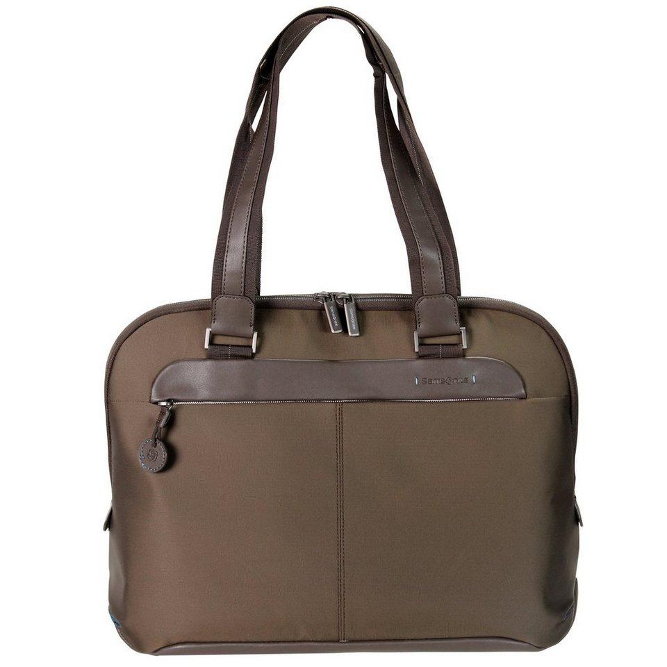 Samsonite Samsonite Spectrolite Damen-Businesstasche Female Business Bag 4 in tobacco