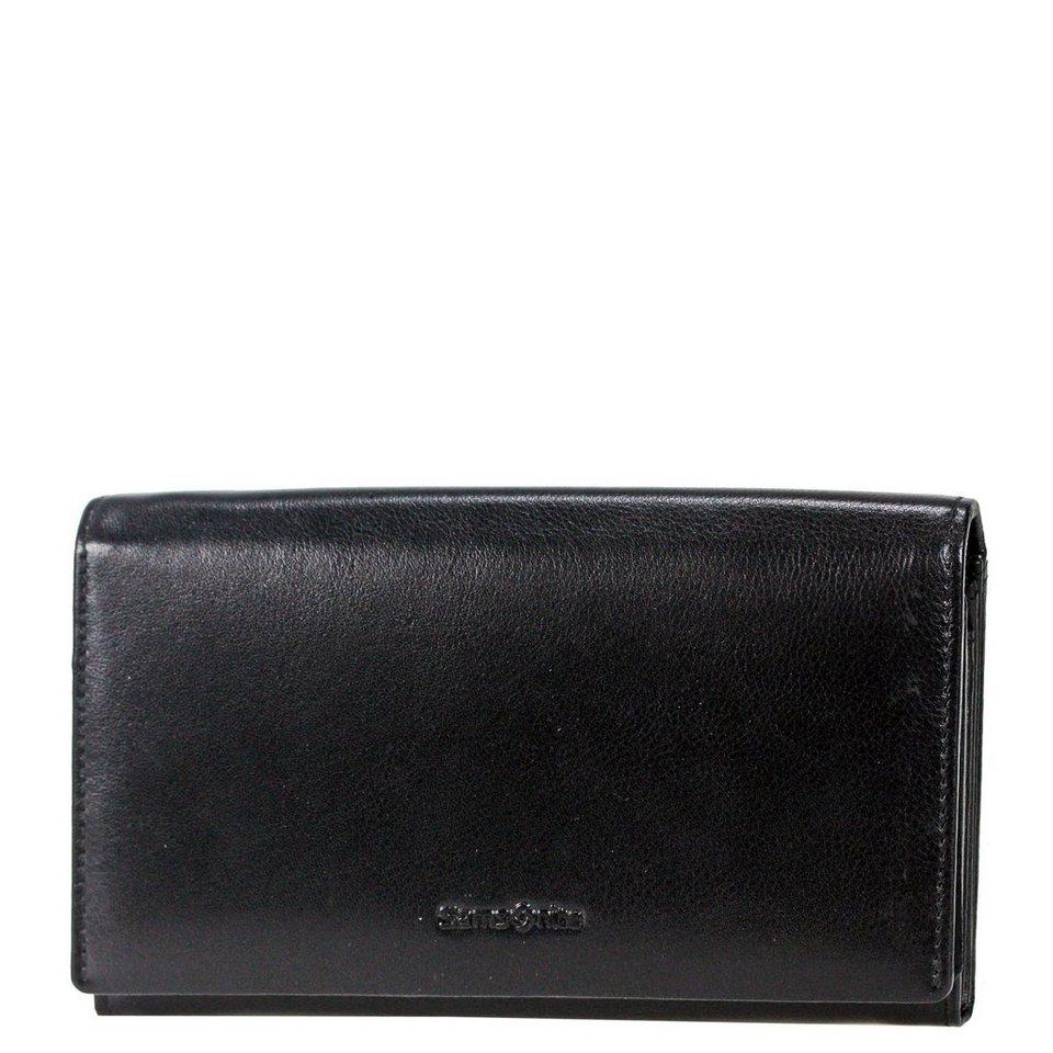 Samsonite Success SLG Damen-Geldbörse Leder 17 cm in black