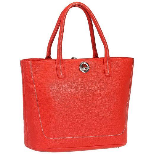 Lamarthe Paris Shopper Tasche Leder 28 cm