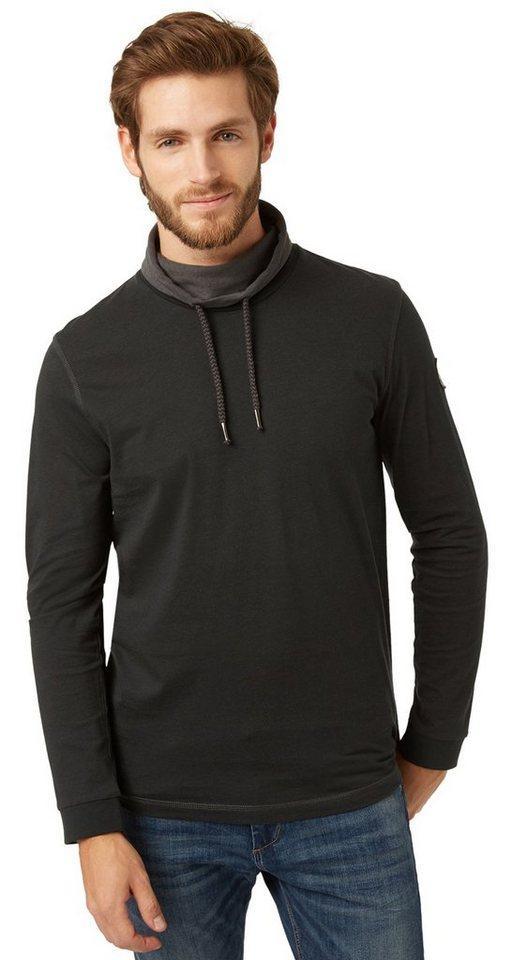 tom tailor t shirt langarm shirt mit rollkragen otto. Black Bedroom Furniture Sets. Home Design Ideas