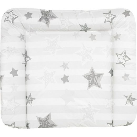 MyToys-COLLECTION ALVI Wickelauflage Silver Star, 85 x 70 cm