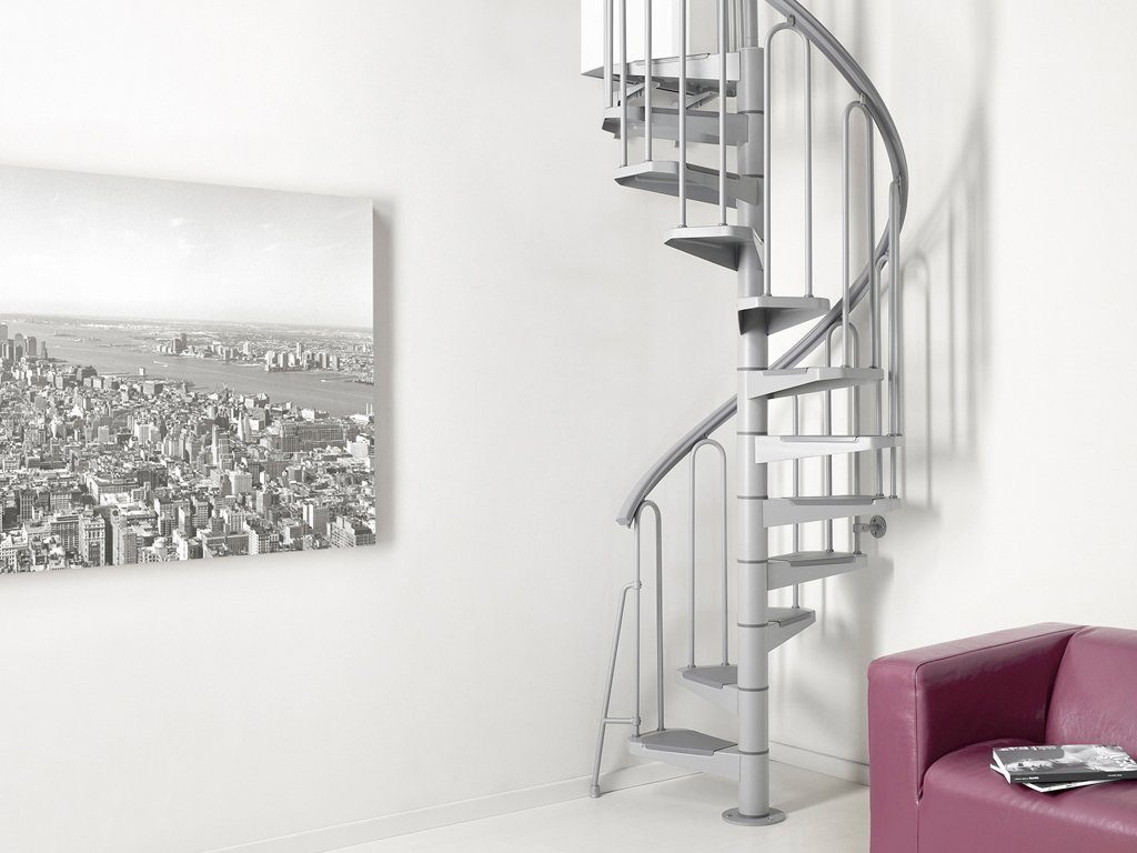 STARWOOD Spindeltreppe »Nice 3«, Ø: 100 cm, 13 Stufen