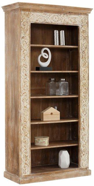 Küchenregale - Home affaire Regal »Malati«, mit dekorativen Fräsungen, Höhe 180 cm  - Onlineshop OTTO