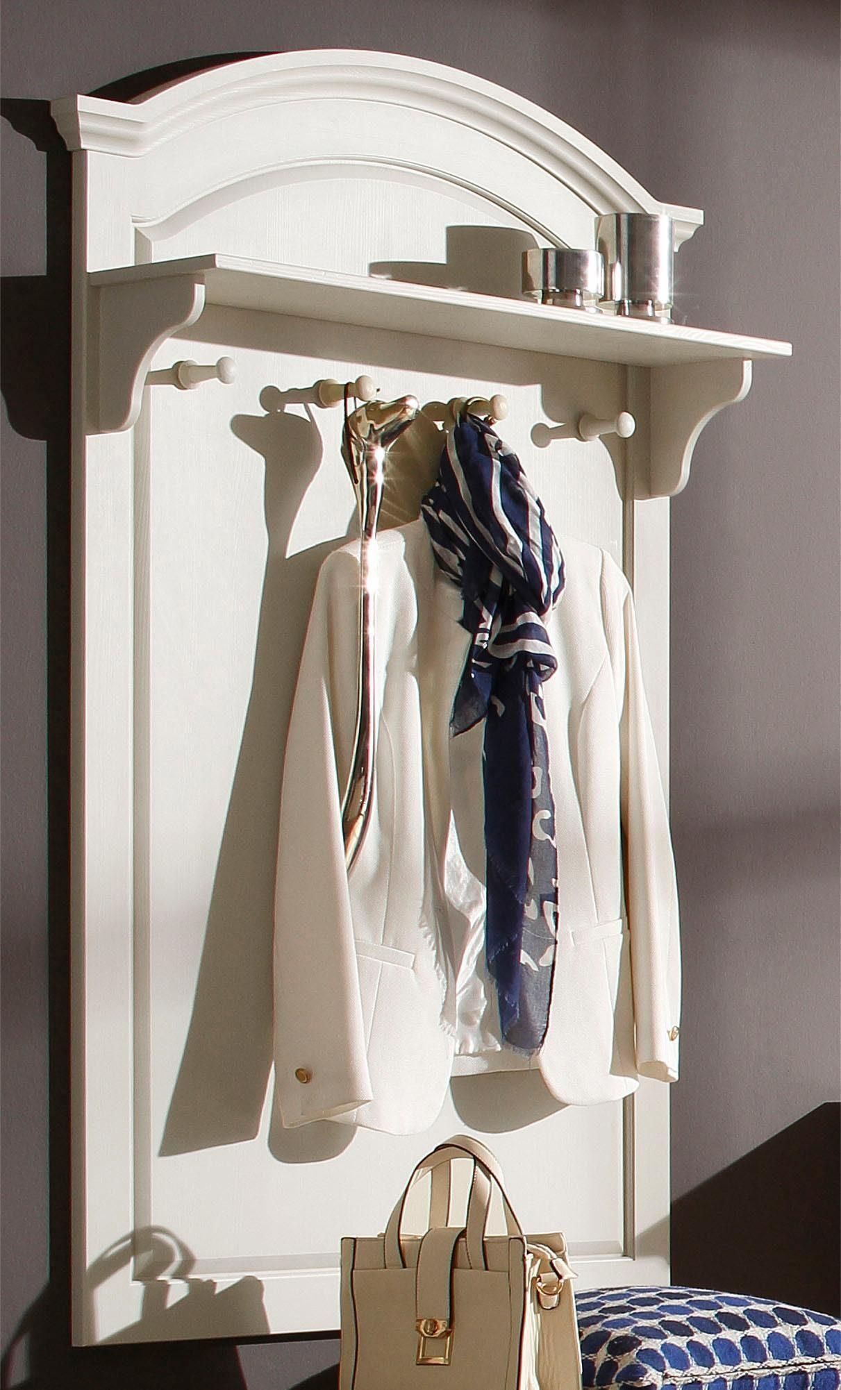 Home affaire Garderobenpaneel »Ivala«, aus massiver Kiefer, 90 cm breit und 140 cm hoch
