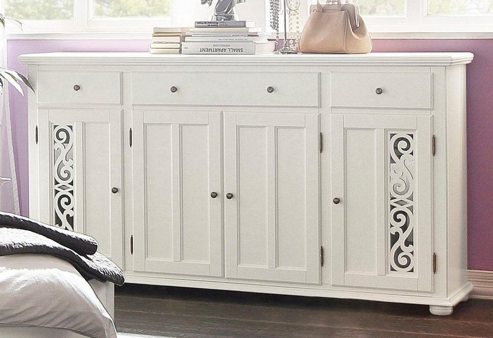 Premium collection by Home affaire Sideboard »Arabeske«, Breite 171 cm in natur