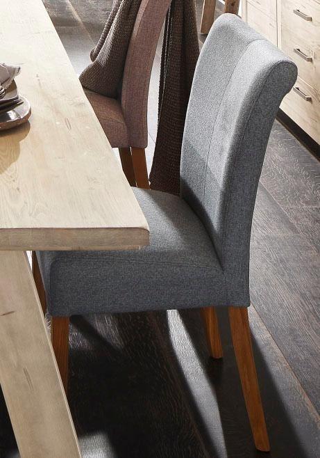 home affaire stuhl queen im 2er set bezogen mit web oder strukturstoff oder kunstleder. Black Bedroom Furniture Sets. Home Design Ideas
