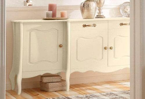 Home affaire Sideboard »Lebo«, mit Softclose., Breite: 215 cm
