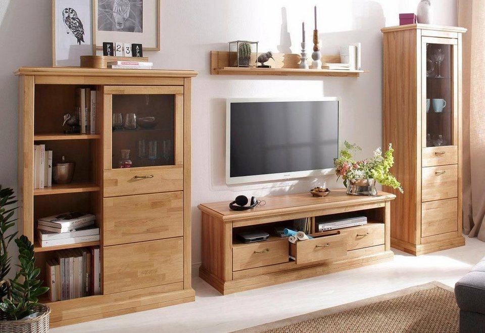 home affaire wohnwand heidi 4 tlg kaufen otto. Black Bedroom Furniture Sets. Home Design Ideas