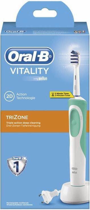 Oral-B Elektrische Zahnbürste Vitality TriZone, mit Timer