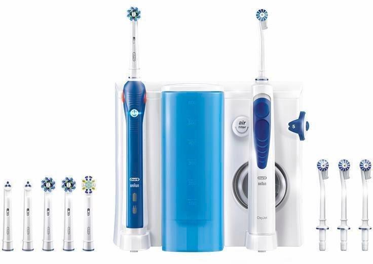 oral b reinigungssystem oxyjet munddusche oral b pro 3000 elektrische zahnb rste online. Black Bedroom Furniture Sets. Home Design Ideas