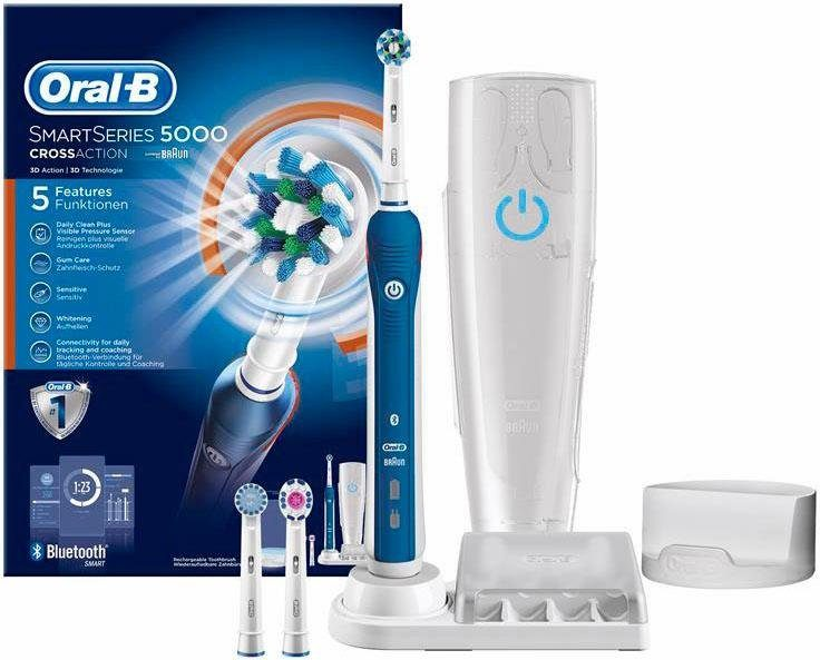 Oral-B Elektrische Zahnbürste SmartSeries 5000, Powered By Braun