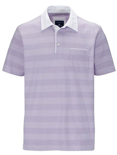 Babista Poloshirt in zweifarbiger Jaquard-Optik