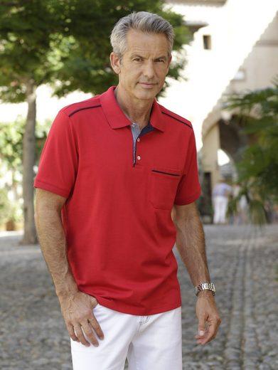 Babista Poloshirt mit Webbesatz