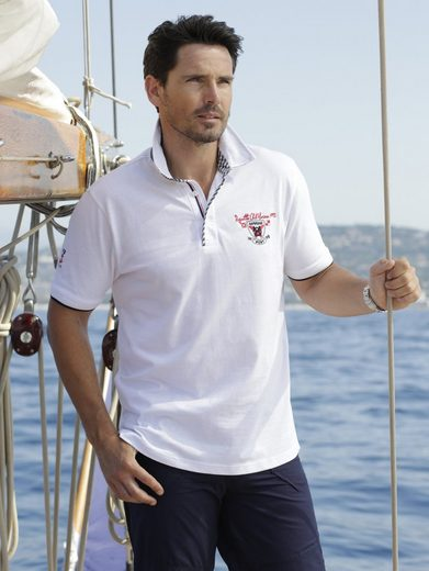Babista Polo Shirt With Ornate Collar