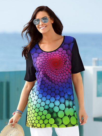MIAMODA Shirt mit tollem Farbverlauf
