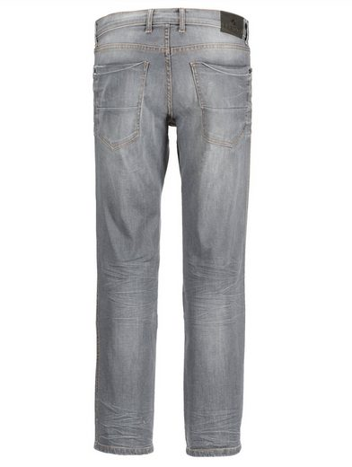 Babista Jeans mit Crinkle-Effekt