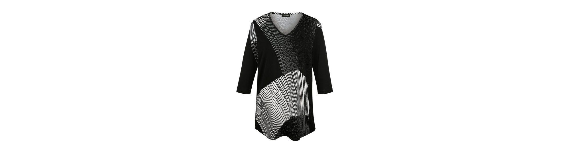 MIAMODA Shirt in Longform Günstige Kaufladen eMkYLc