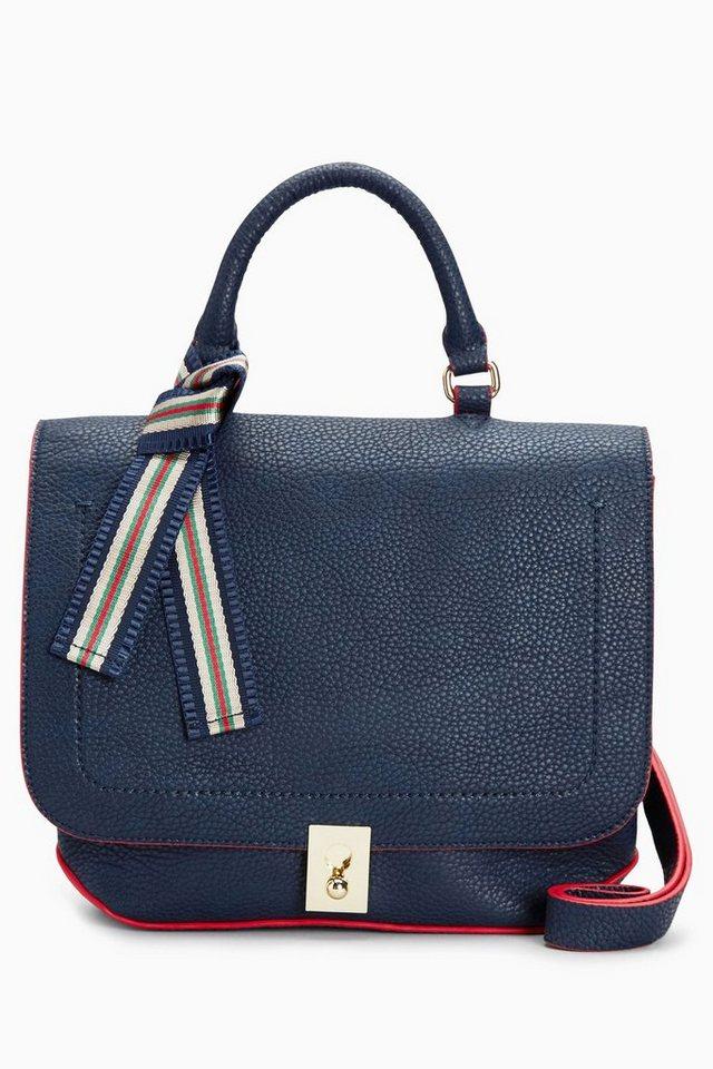 Next Tasche mit Tragegriff in Blue