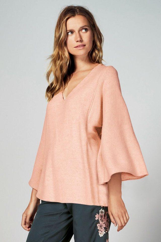 Next Pullover in Übergröße in Blush