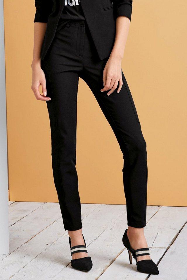 Next Super Skinny Hose mit Einsatz in Black