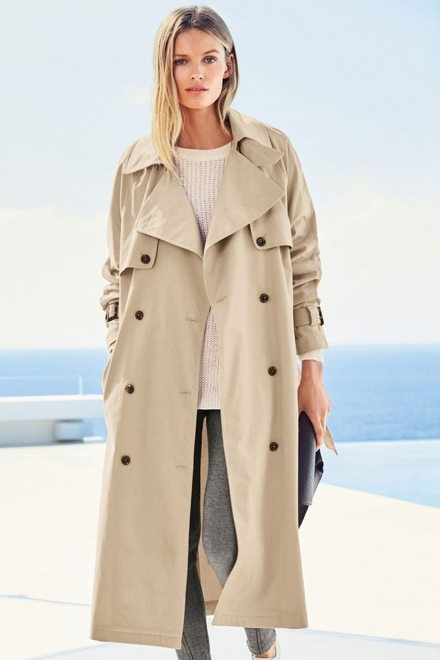 Next Oversize-Trenchcoat in Natural