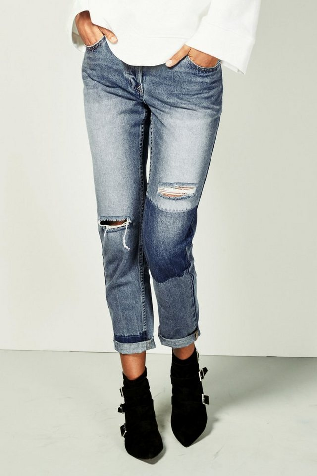 next bequeme jeans mit aufn hern online kaufen otto. Black Bedroom Furniture Sets. Home Design Ideas