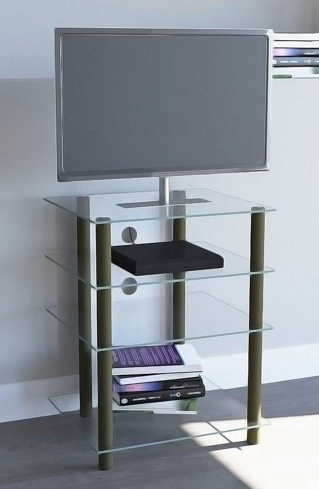vcm hifi m bel alu glas bilus online kaufen otto. Black Bedroom Furniture Sets. Home Design Ideas