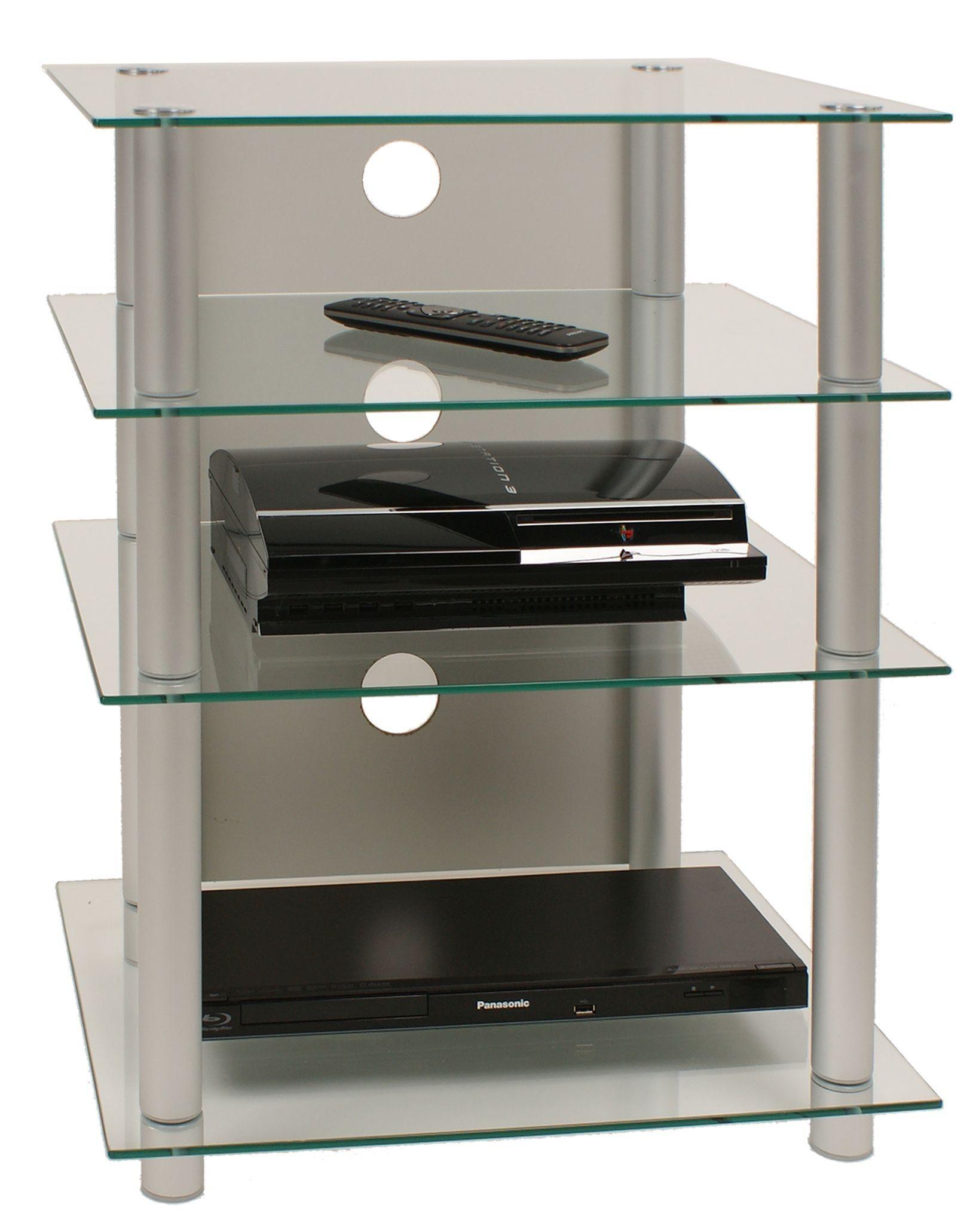 Astounding Angebote Möbel Sammlung Von Hifi-möbel Alu / Glas