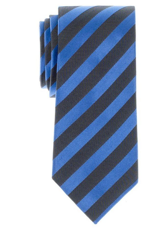 ETERNA Krawatte »breit« in hellblau