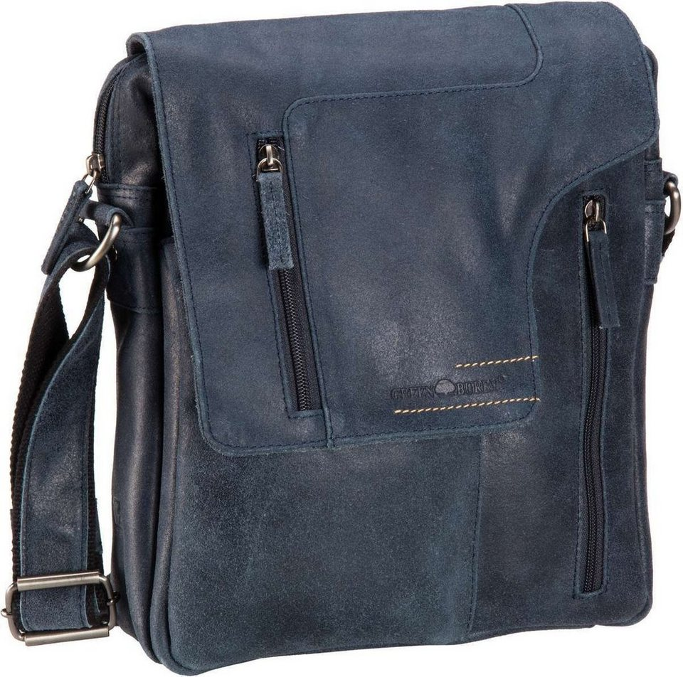Greenburry Rough & Tough Revolver Bag in Jeans