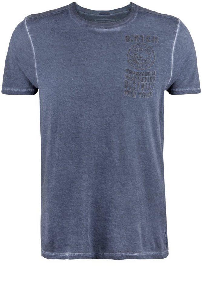 Better Rich Shirt »CROSBY T-SHIRT« in iris blue
