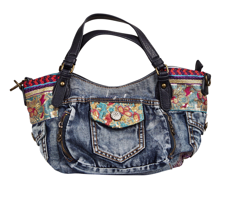 Desigual Handtasche »BOLS ETHNIC DELUXE ROTTERDAM M«