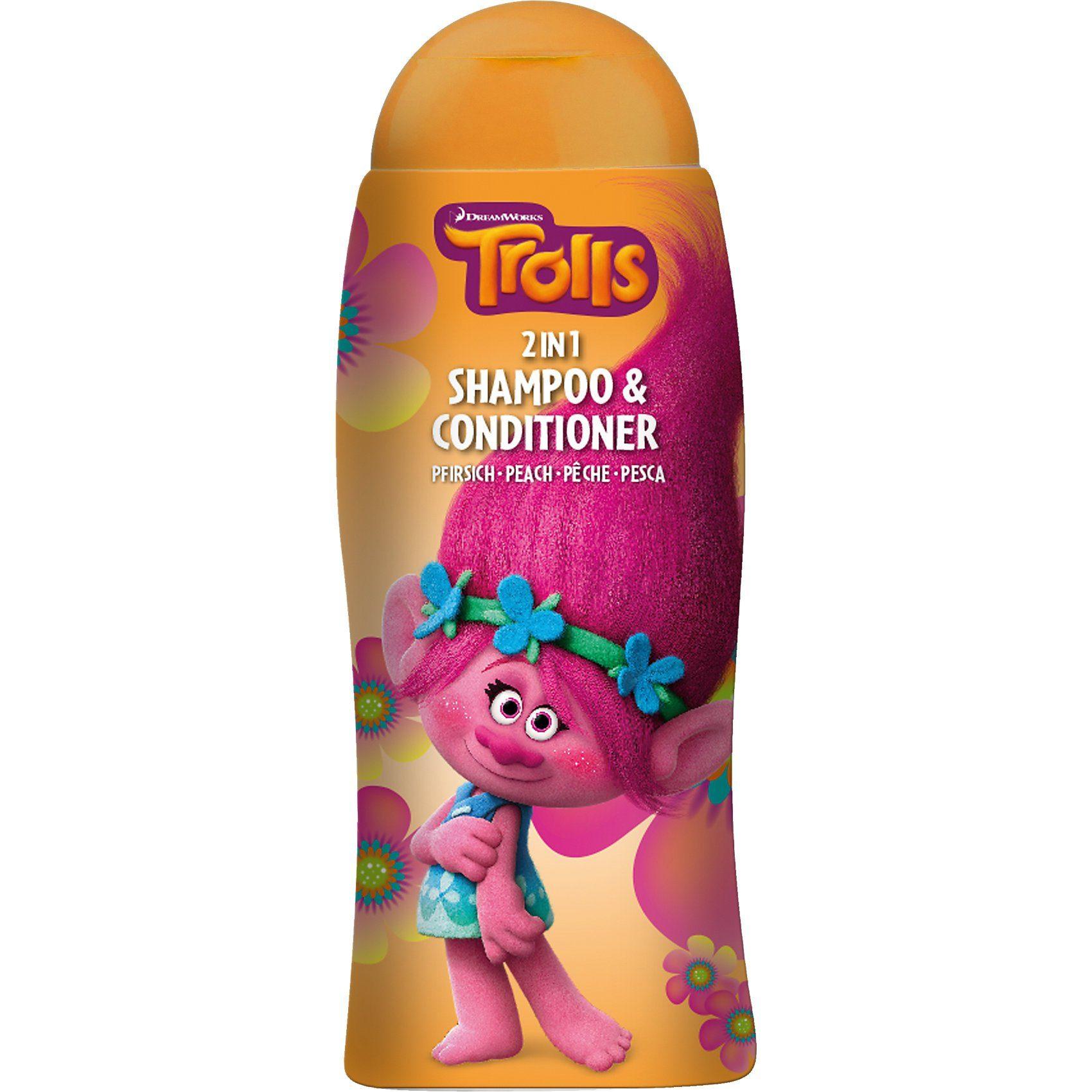 Shampoo & Conditioner 2 in 1, Trolls, 250 ml