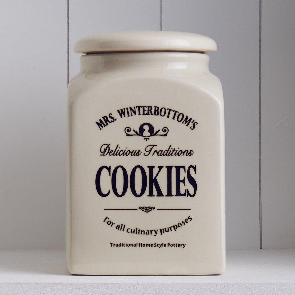 BUTLERS MRS. WINTERBOTTOM'S »Plätzchendose« in creme