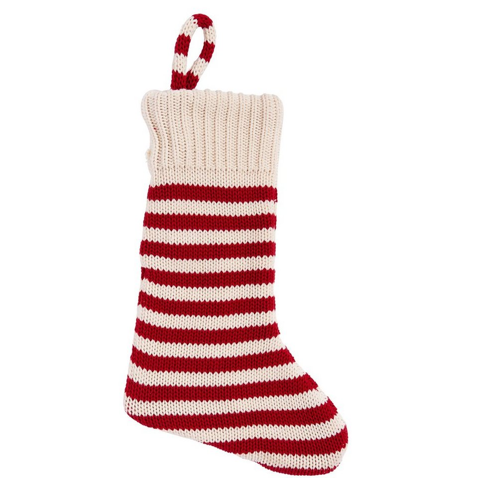 BUTLERS CANDY CANE »Strickstrumpf« in rot-weiss