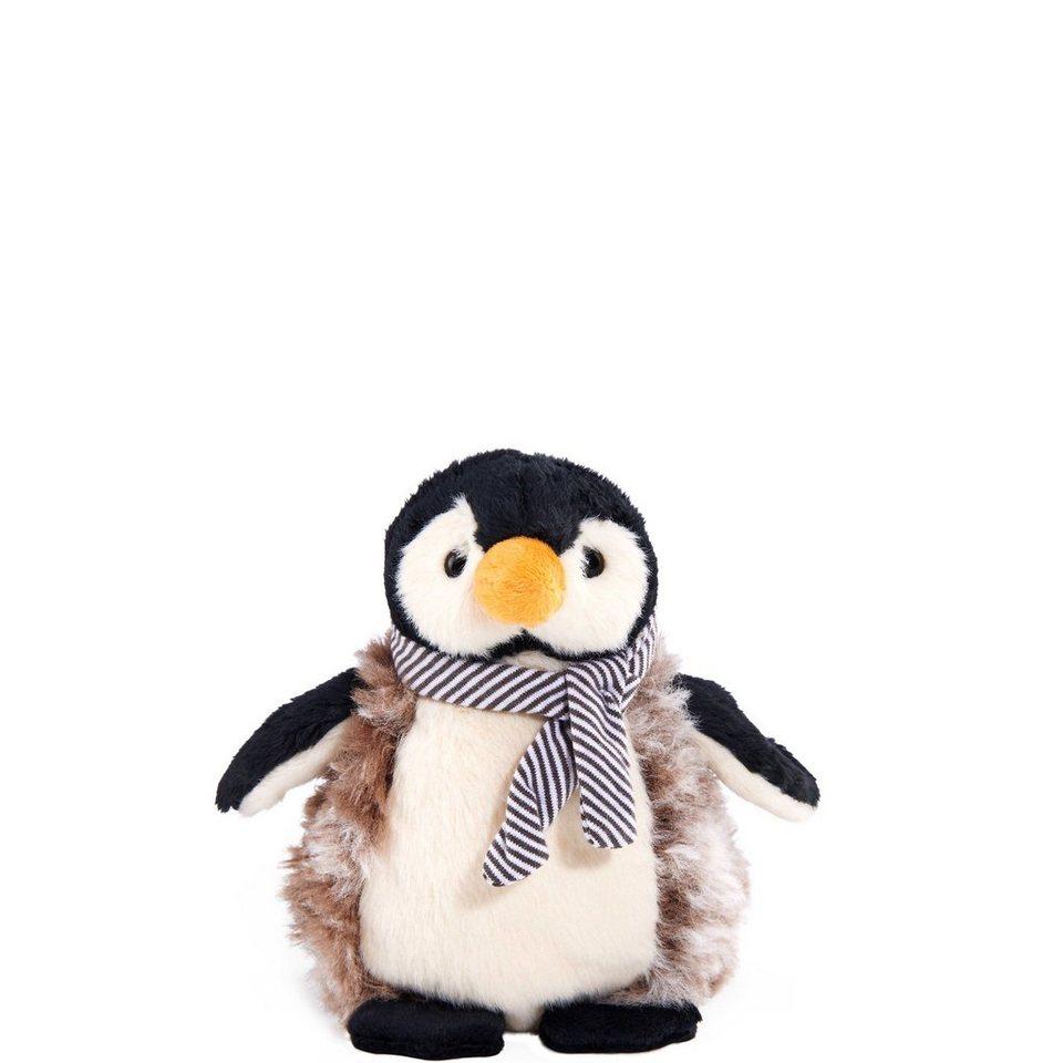 BUTLERS JULIUS »Plüsch Pinguin« in schwarz