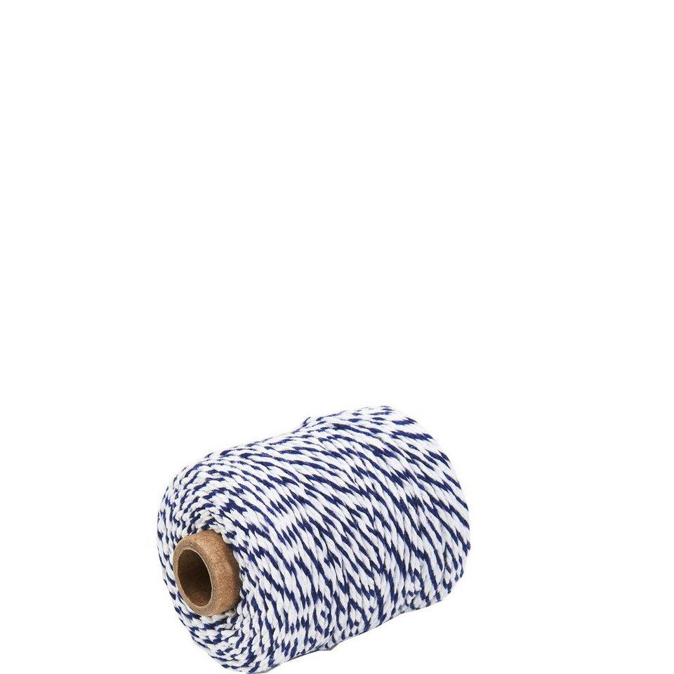 BUTLERS COTTON TWIST »Kordel« in blau-weiss