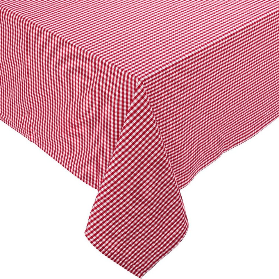 BUTLERS VICHY »Tischdecke 150x210 cm« in rot
