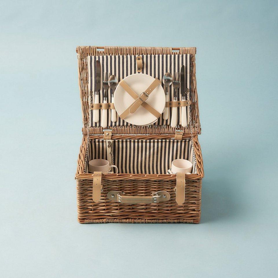 BUTLERS A DAY IN THE PARK »Picknickkorb für 2 Personen« in Natur