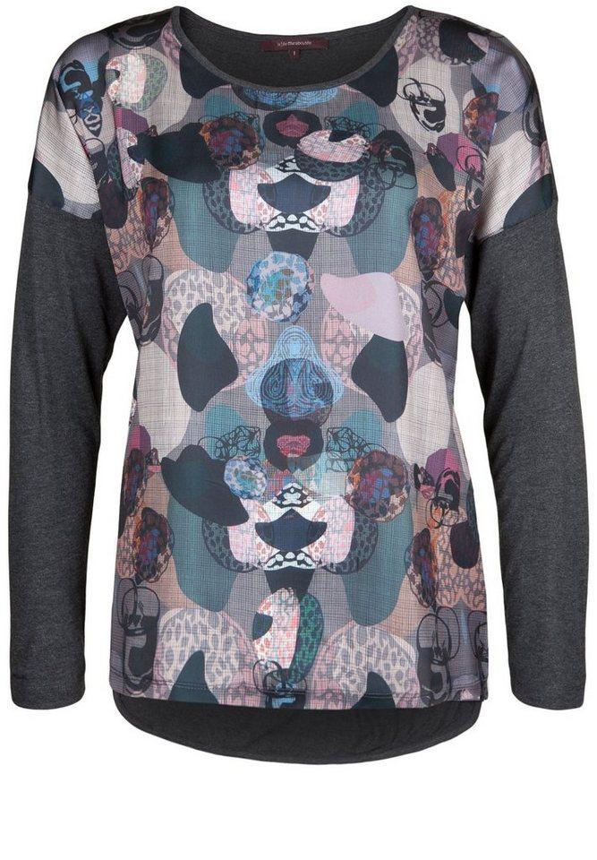 LA FÉE MARABOUTÉE Shirt »MIT MATERIALMIX« in unique