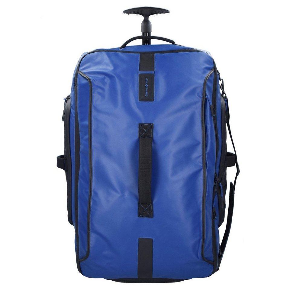 Samsonite Paradiver Light Rollen-Reisetasche 67 cm in blue