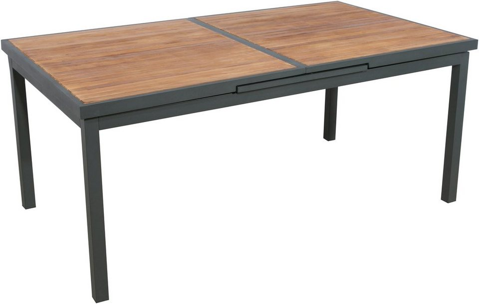 Gartentisch alu 180  BELLASOLE Gartentisch »Melbourne«, Ausziehtisch 180-240 cm, Alu ...
