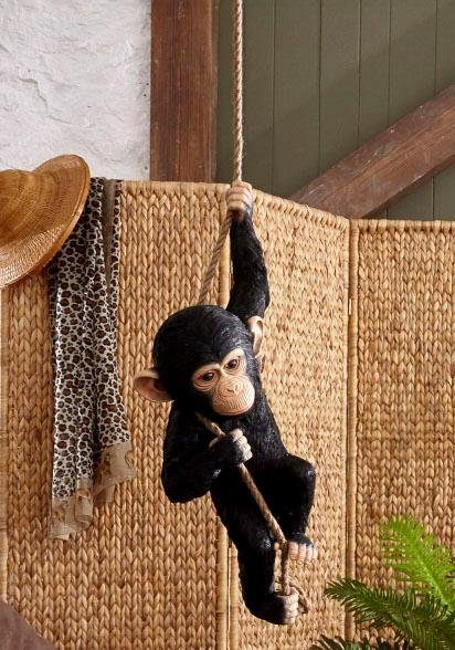 Home affaire Dekofigur »Schimpanse am Seil«