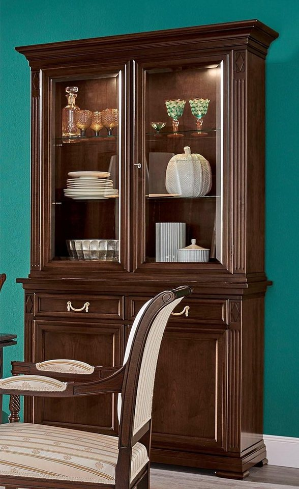 selva vitrine villa borghese modell 7374 h he 215 cm. Black Bedroom Furniture Sets. Home Design Ideas