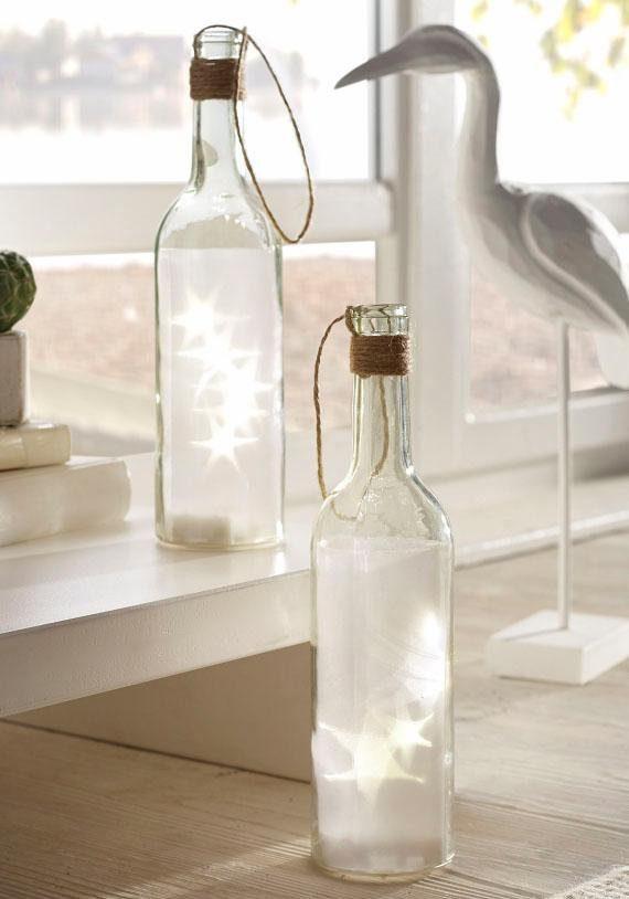 Home affaire LED-Flasche (2-tlg.)