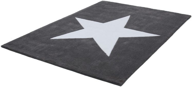 Teppich »Dream 700«, LALEE, rechteckig, Höhe 16 mm, Stern Design für alle Wohnräume