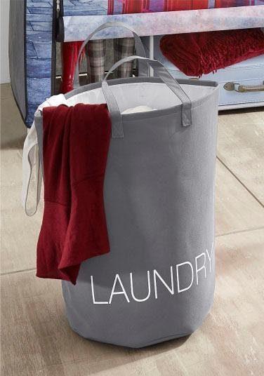 Zeller Wäschesammler mit 2 Tragegriffen